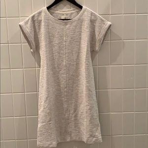 Lou & Grey Tweedknit Cuffed Tee Dress XXS NWT